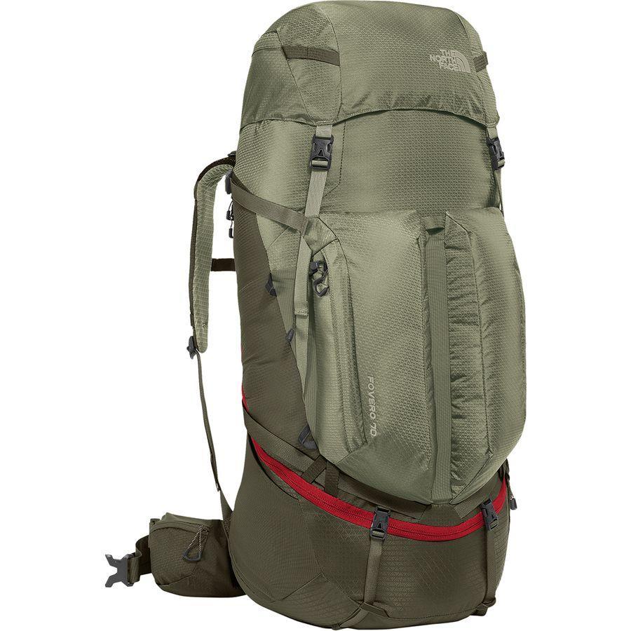 (取寄)ノースフェイス Fovero 70L バックパック The North Face Men's Fovero 70L Backpack Grape Leaf/Deep Lichen Green