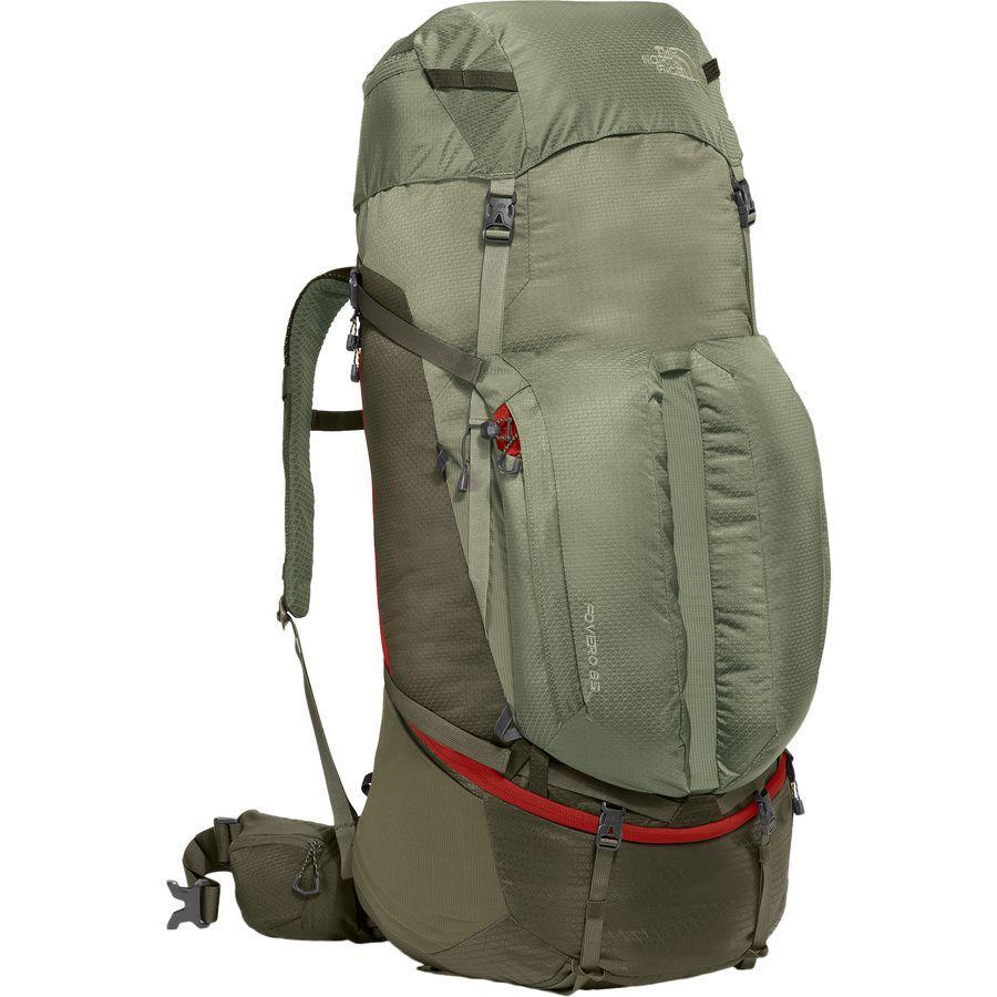 (取寄)ノースフェイス Fovero 85L バックパック The North Face Men's Fovero 85L Backpack Grape Leaf/Deep Lichen Green