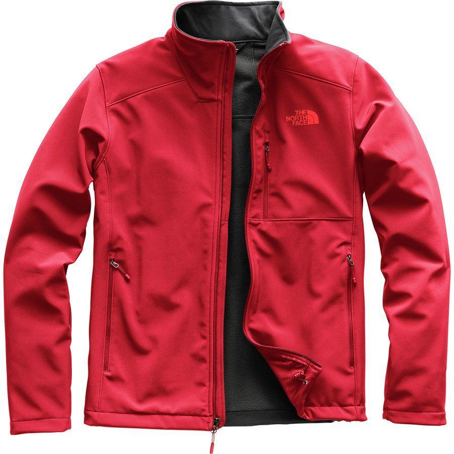 (取寄)ノースフェイス メンズ アペックス バイオニック 2 ソフトシェル ジャケット The North Face Men's Apex Bionic 2 Softshell Jacket Rage Red/Rage Red