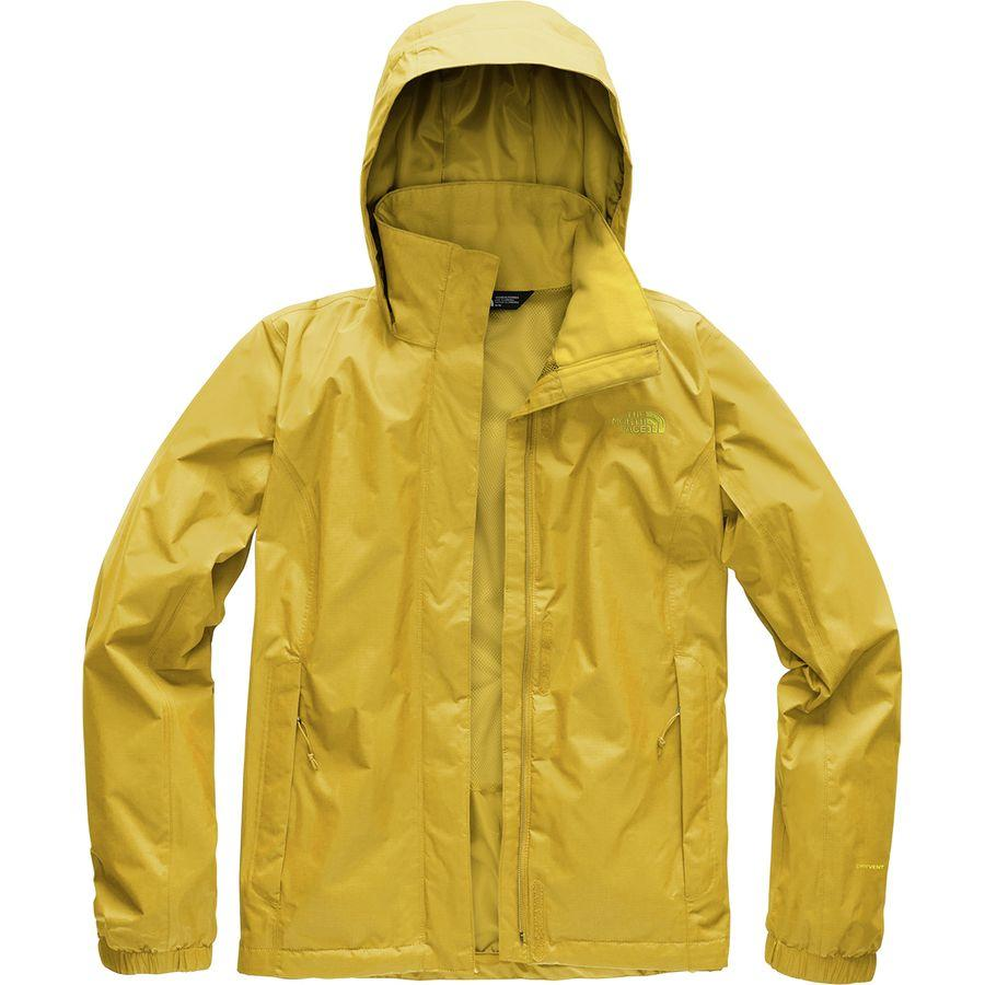 (取寄)ノースフェイス レディース リゾルブ 2 フーデッド ジャケット The North Face Women Resolve 2 Hooded Jacket Leopard Yellow/Leopard Yellow