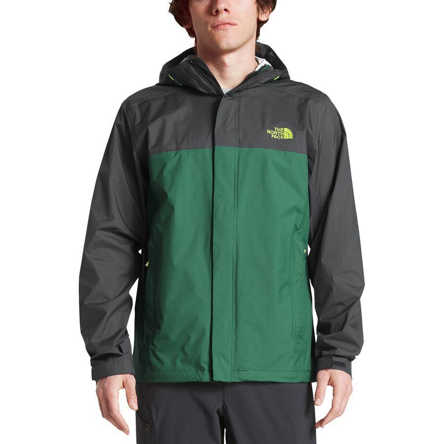 (取寄)ノースフェイス メンズ ベンチャー 2 フーデッド ジャケット The North Face Men's Venture 2 Hooded Jacket Asphalt Grey/Botanical Garden Green