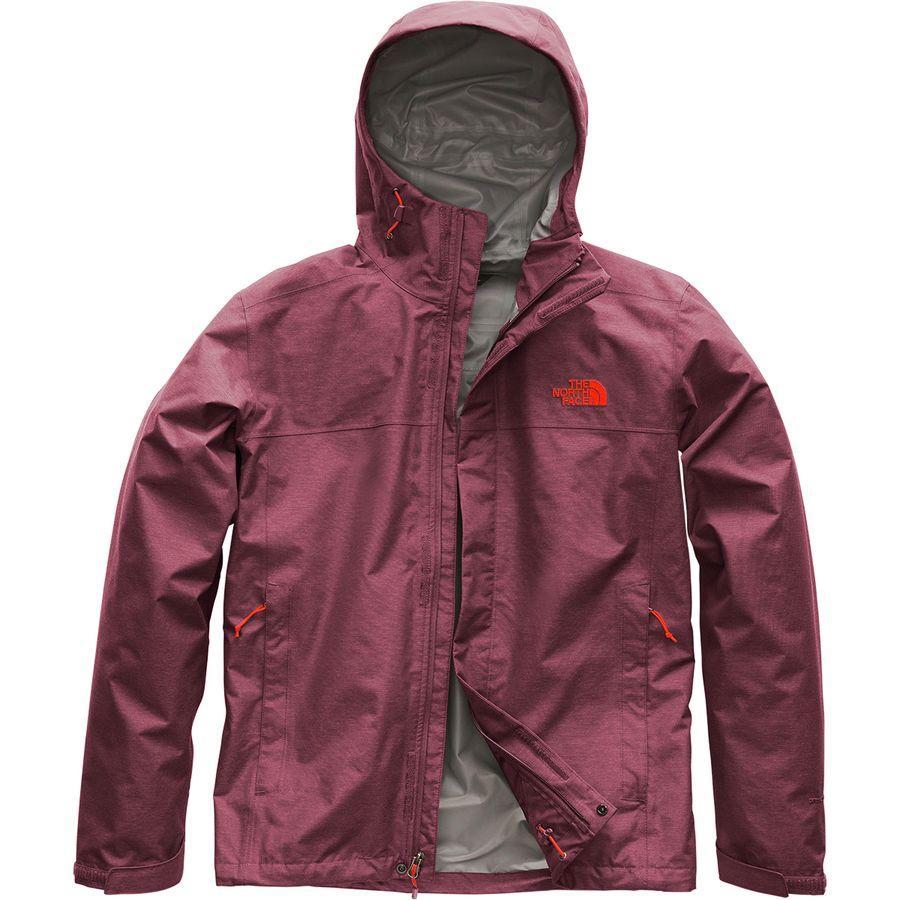 (取寄)ノースフェイス メンズ ベンチャー 2 フーデッド ジャケット The North Face Men's Venture 2 Hooded Jacket Fig Heather/Fig Heather