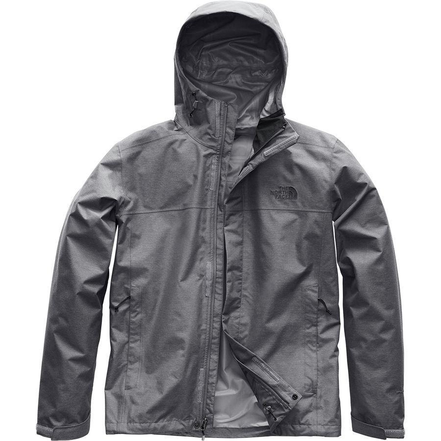 (取寄)ノースフェイス メンズ ベンチャー 2 フーデッド ジャケット The North Face Men's Venture 2 Hooded Jacket Mid Grey Ripstop Heather