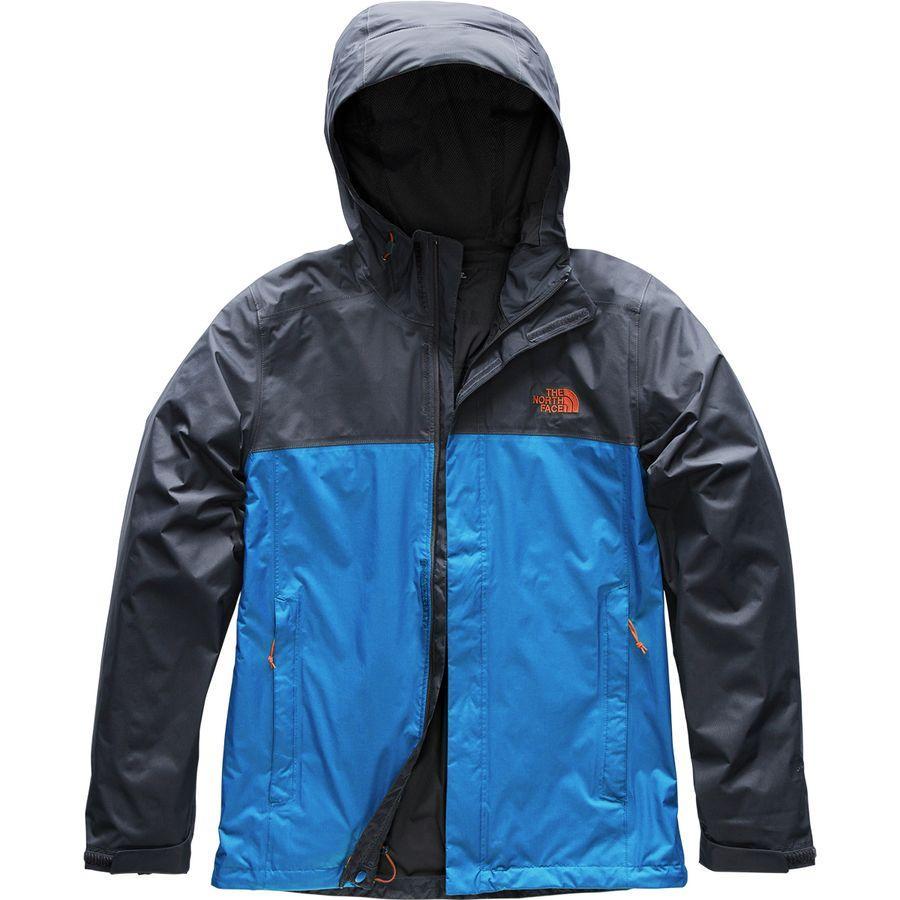 (取寄)ノースフェイス メンズ ベンチャー 2 フーデッド ジャケット The North Face Men's Venture 2 Hooded Jacket Turkish Sea/Urban Navy/Persian Orange