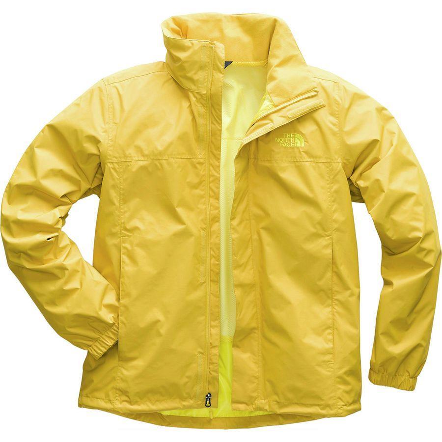 (取寄)ノースフェイス メンズ リゾルブ 2 フーデッド ジャケット The North Face Men's Resolve 2 Hooded Jacket Leopard Yellow/Acid Yellow