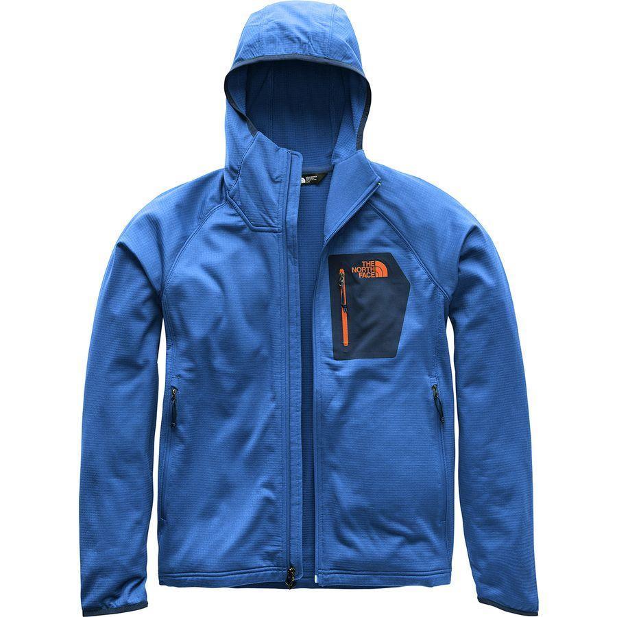 (取寄)ノースフェイス メンズ ボアード フーデッド フリース ジャケット The North Face Men's Borod Hooded Fleece Jacket Turkish Sea/Urban Navy