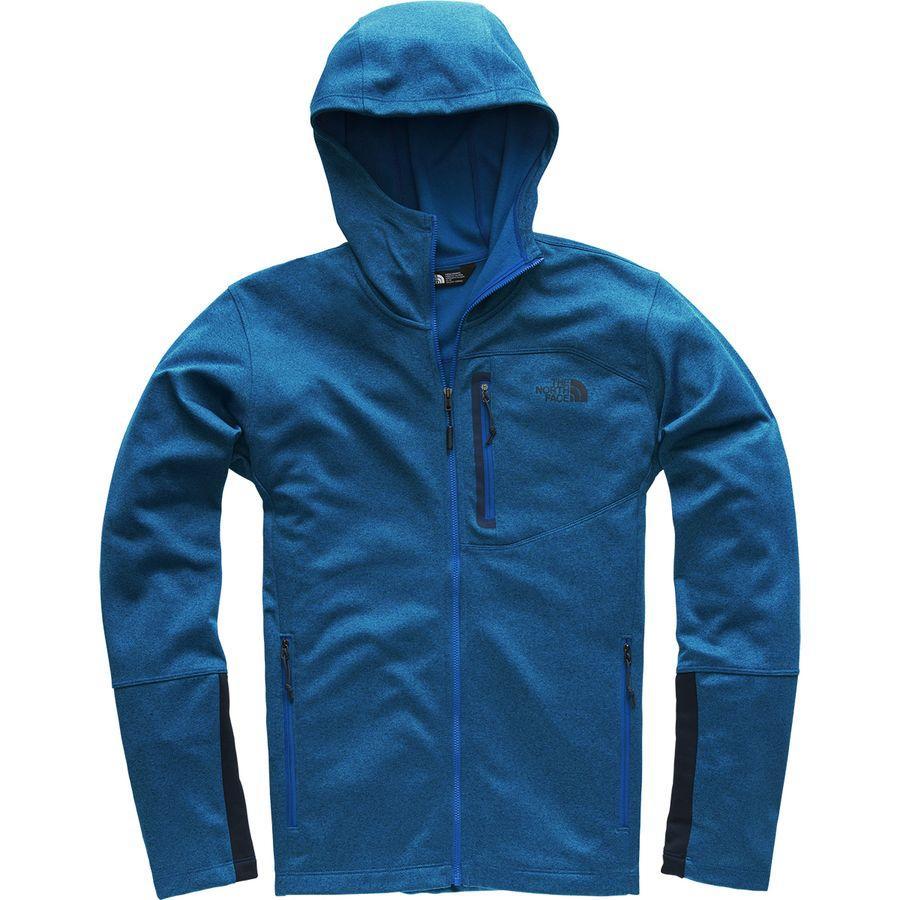 (取寄)ノースフェイス メンズ キャニオンランズ フーデッド フリース ジャケット The North Face Men's Canyonlands Hooded Fleece Jacket Turkish Sea Heather