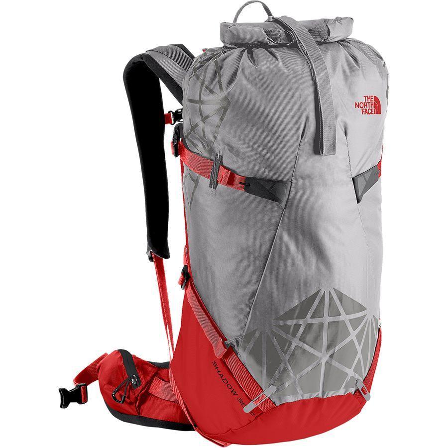 (取寄)ノースフェイス シャドー 30+10L バックパック The North Face Men's Shadow 30+10L Backpack Mid Grey/High Risk Red