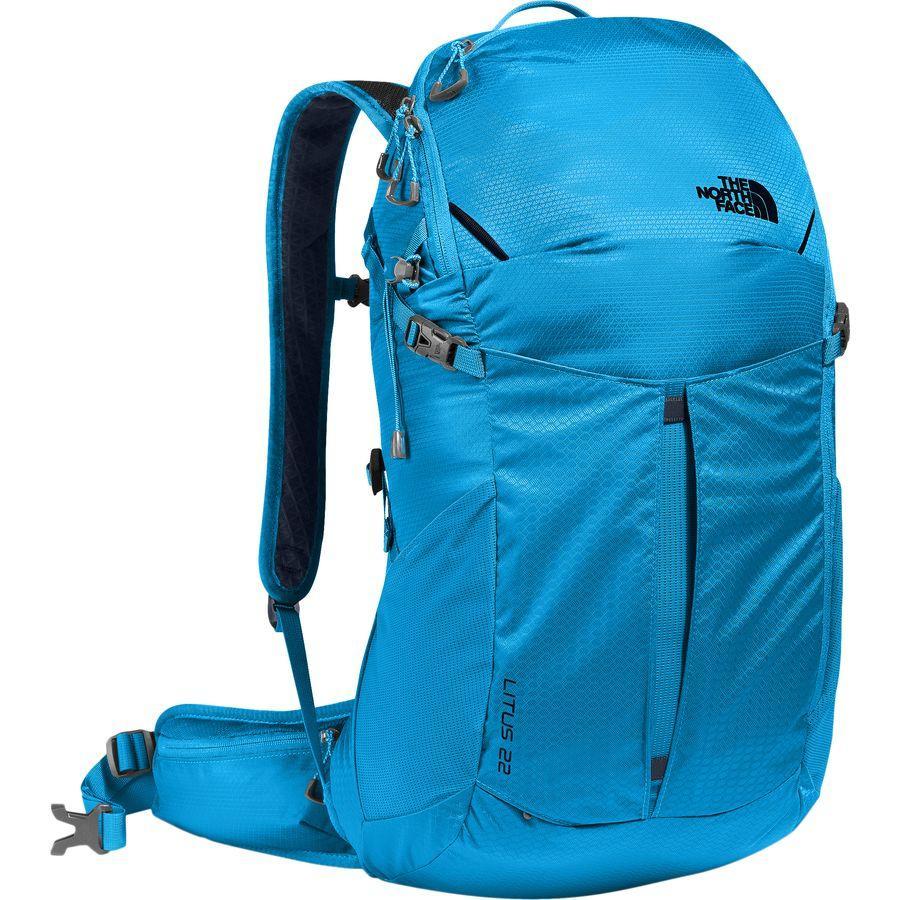 (取寄)ノースフェイス ライタス 22L バックパック The North Face Men's Litus 22L Backpack Hyper Blue/Bomber Blue