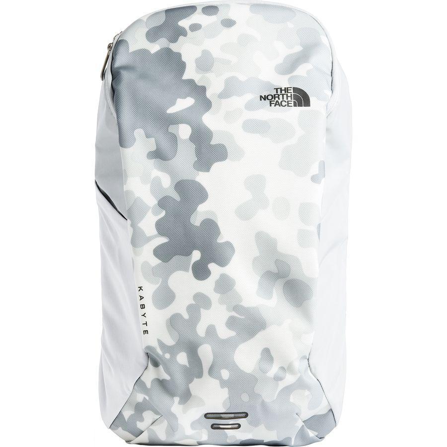 (取寄)ノースフェイス レディース Kabyte 20L バックパック The North Face Women Kabyte 20L Backpack Tnf White Macrofleck Camo Print/High Rise Grey