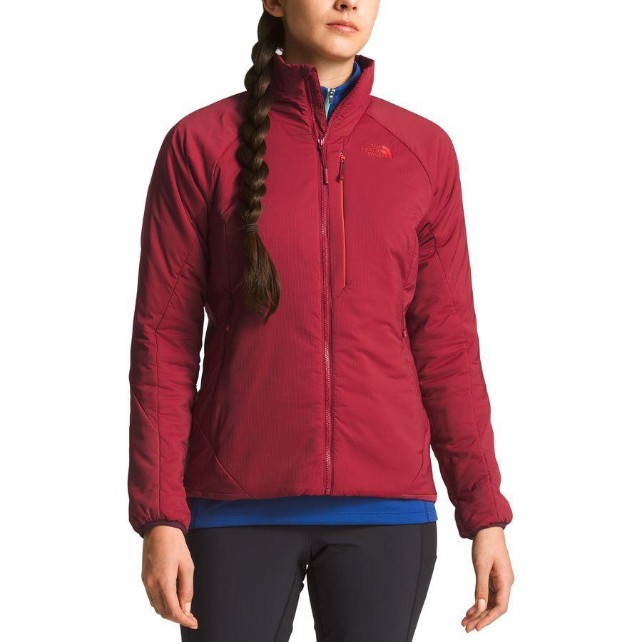 (取寄)ノースフェイス レディース ヴェントリックス インサレーテッド ジャケット The North Face Women Ventrix Insulated Jacket Rumba Red/Rumba Red