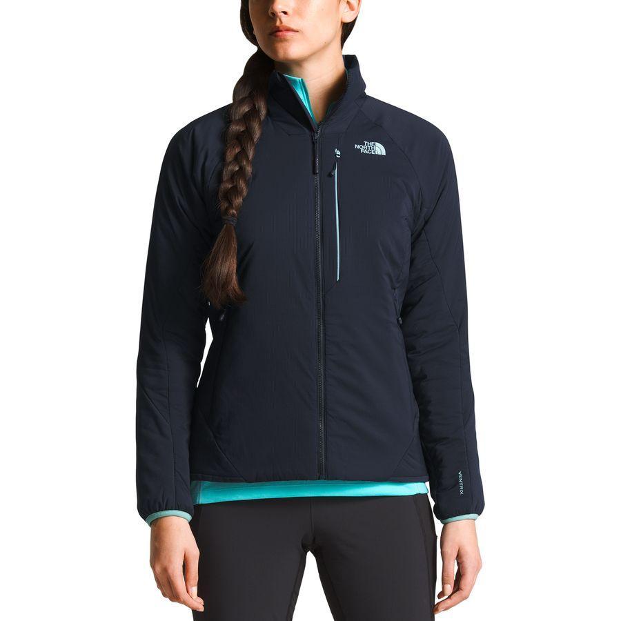 (取寄)ノースフェイス レディース ヴェントリックス インサレーテッド ジャケット The North Face Women Ventrix Insulated Jacket Urban Navy/Urban Navy