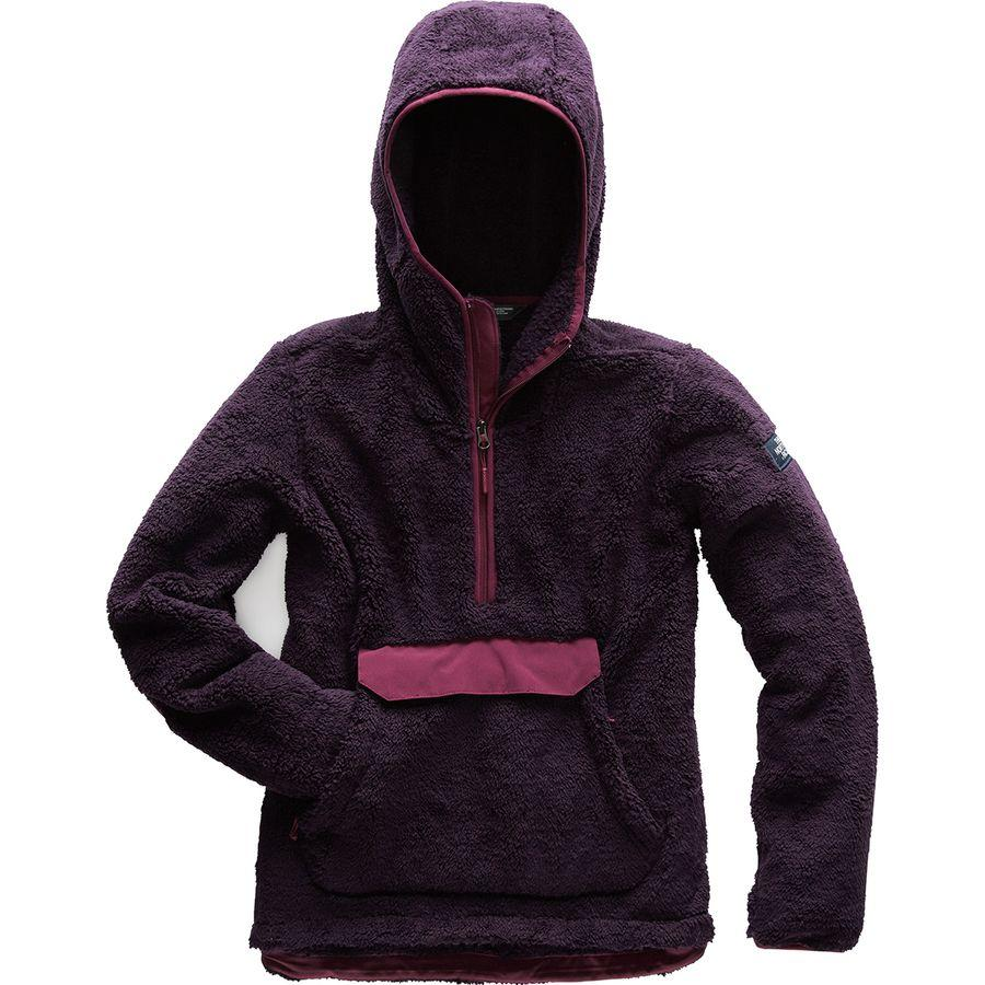 (取寄)ノースフェイス レディース Campshire フーデッド プルオーバー フリース ジャケット The North Face Women Campshire Hooded Pullover Fleece Jacket Galaxy Purple