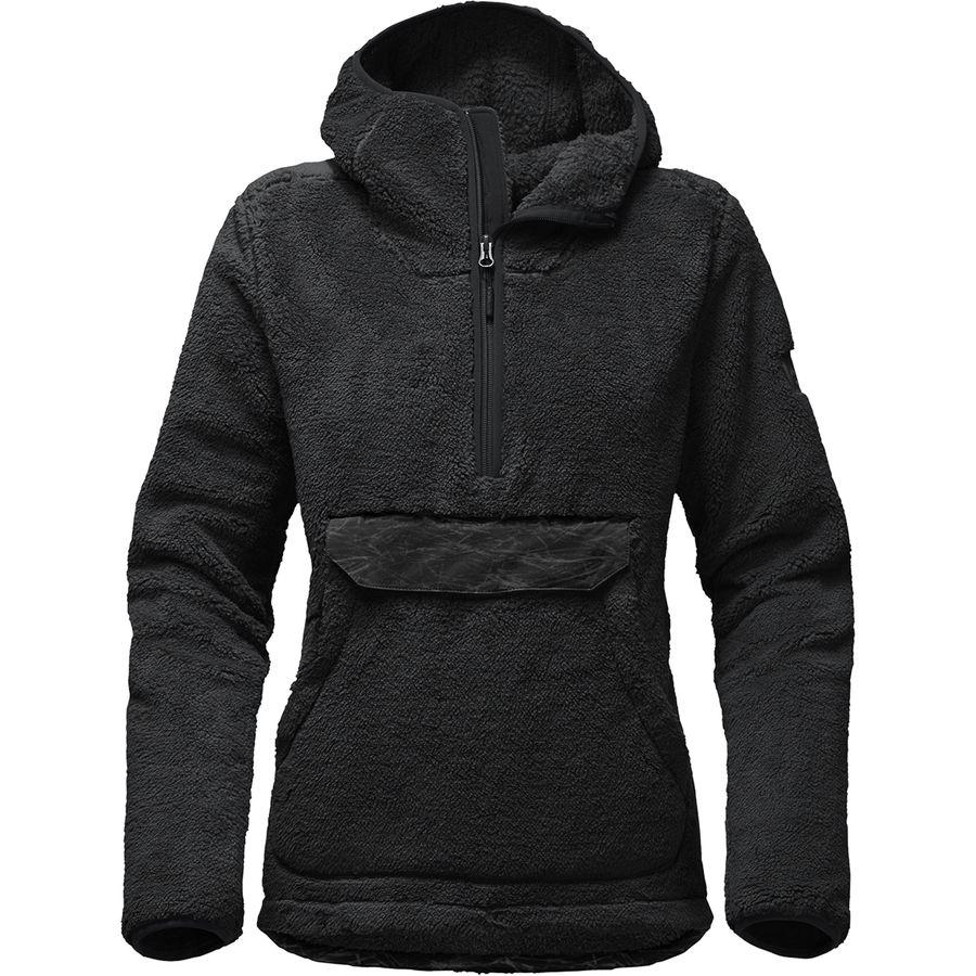 87124dee1e4 (order) North Face Lady s Campshire hooded pullover fleece jacket The North  Face Women Campshire Hooded Pullover Fleece Jacket Tnf Black Novelty