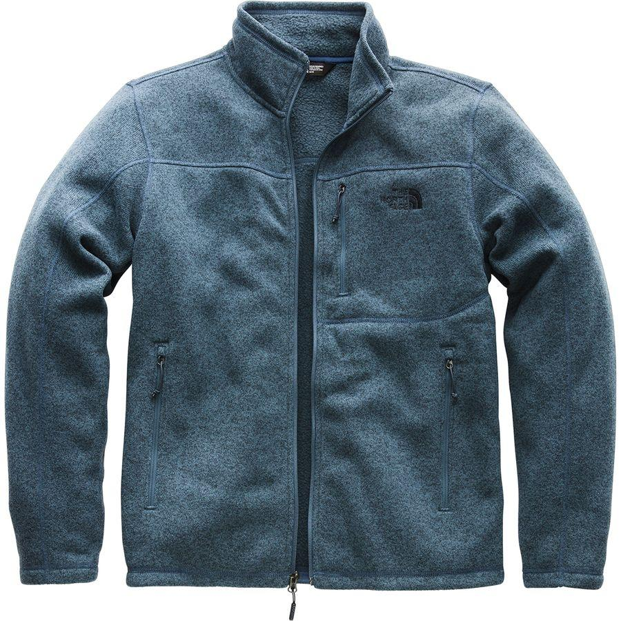 【クーポンで最大2000円OFF】(取寄)ノースフェイス メンズ ゴードン リヨン フリース ジャケット The North Face Men's Gordon Lyons Fleece Jacket Shady Blue Heather