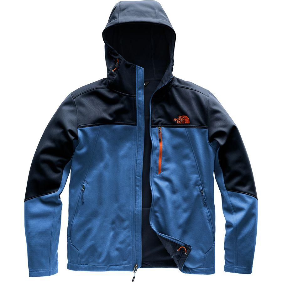 (取寄)ノースフェイス メンズ アペックス Canyonwall ハイブリッド フーデッド ジャケット The North Face Men's Apex Canyonwall Hybrid Hooded Jacket Turkish Sea/Urban Navy/Persian Orange
