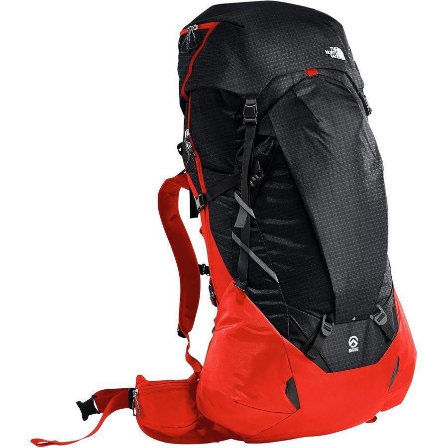 (取寄)ノースフェイス プロフェット 100 バックパック The North Face Men's Prophet 100 Backpack Fiery Red/Tnf Black