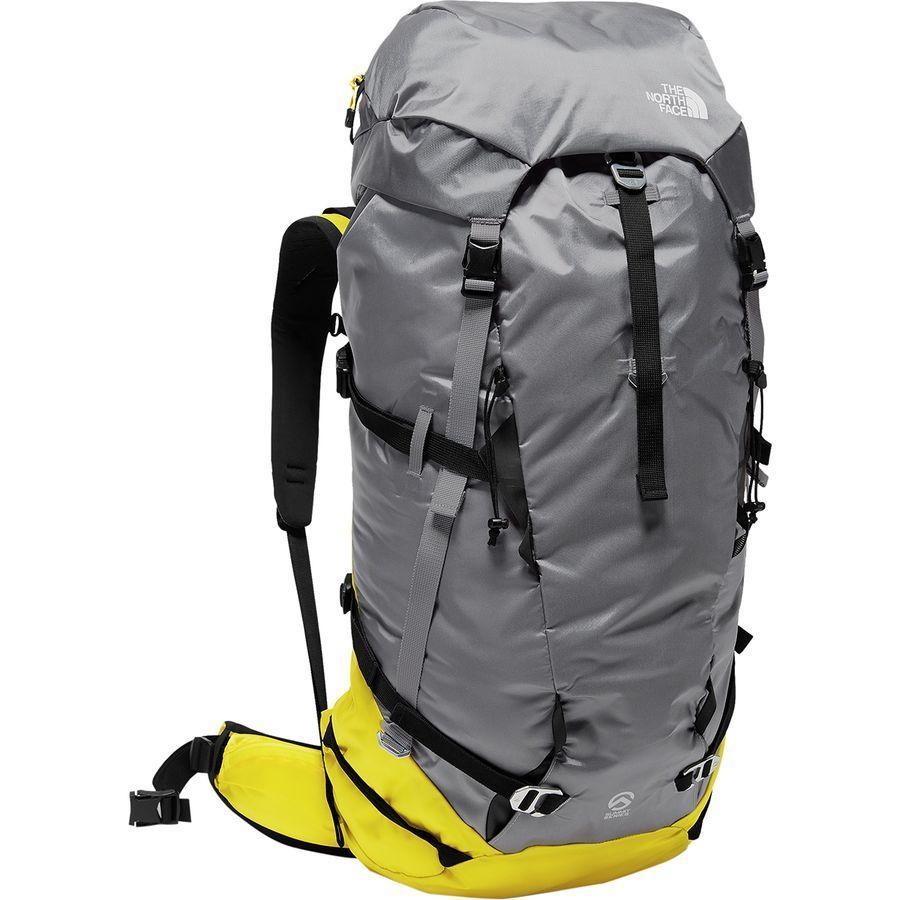(取寄)ノースフェイス ファントム 50L バックパック The North Face Men's Phantom 50L Backpack Blazing Yellow/Mid Grey