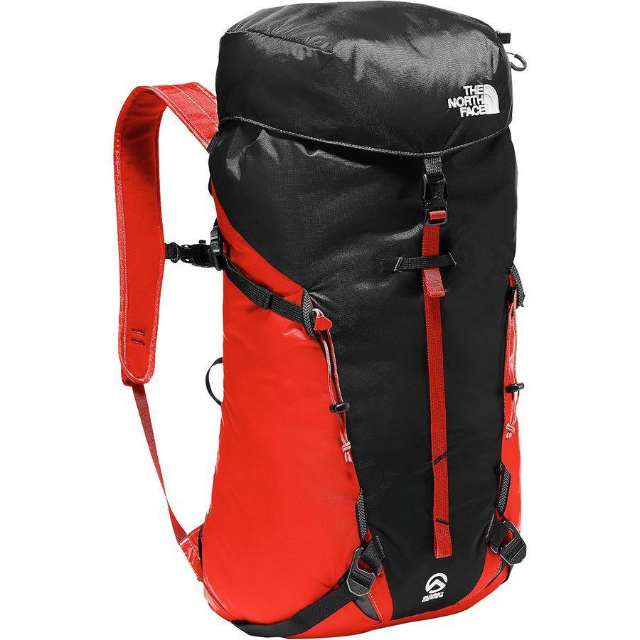 (取寄)ノースフェイス ヴェルト 27L バックパック The North Face Men's Verto 27L Backpack Fiery Red/Tnf Black
