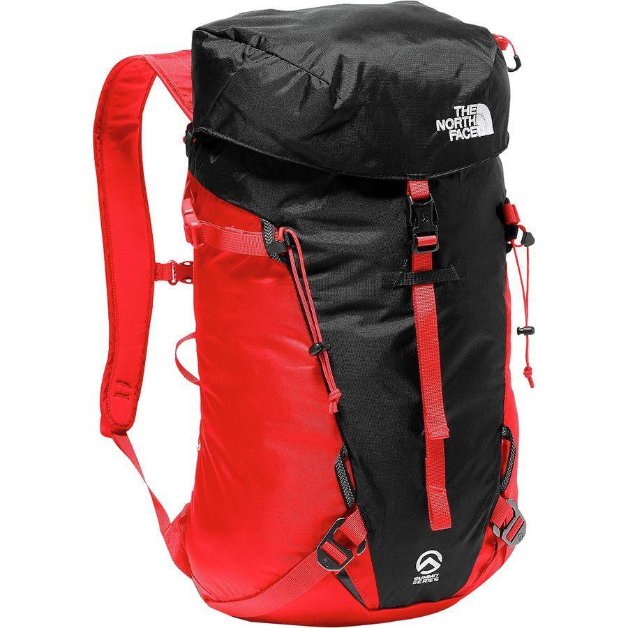 (取寄)ノースフェイス ヴェルト 18L バックパック The North Face Men's Verto 18L Backpack Fiery Red/Tnf Black