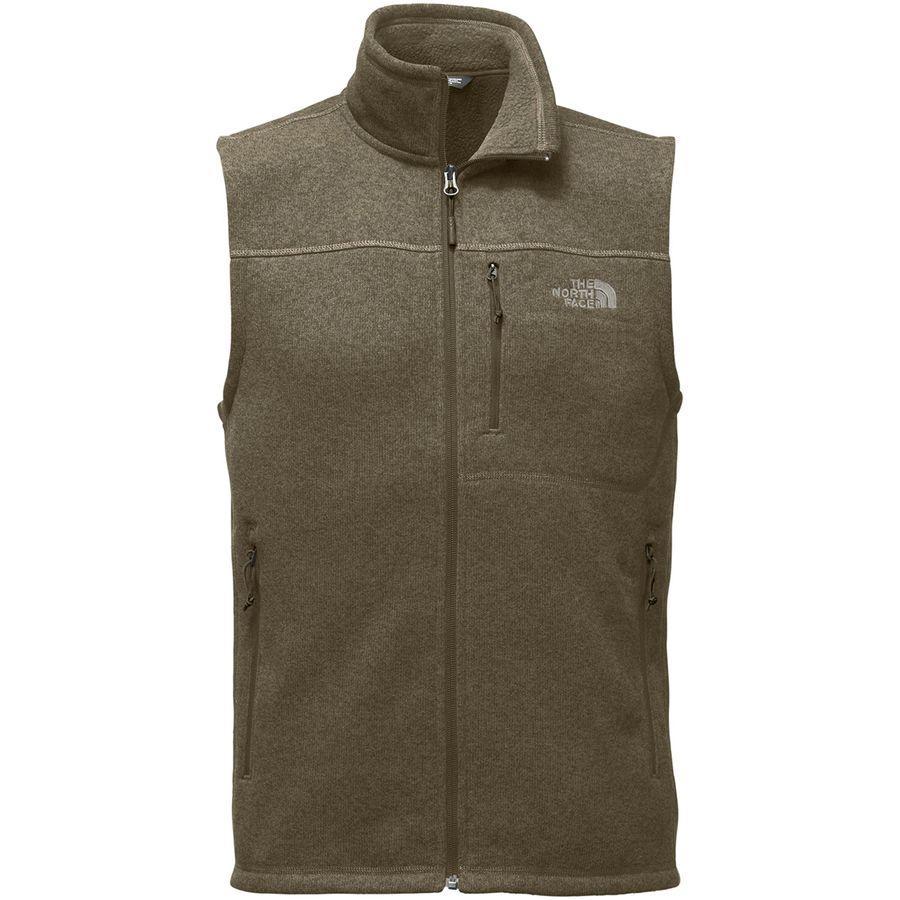 (取寄)ノースフェイス メンズ ゴードン リヨン フリース ベスト The North Face Men's Gordon Lyons Fleece Vest Beech Green Heather