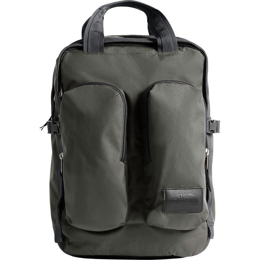 (取寄)ノースフェイス ミニ クレバス 14.5L バックパック The North Face Men's Mini Crevasse 14.5L Backpack Asphalt Grey Heather/Tnf Black