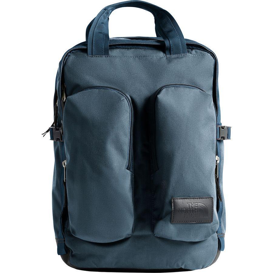 (取寄)ノースフェイス ミニ クレバス 14.5L バックパック The North Face Men's Mini Crevasse 14.5L Backpack Blue Wing Teal Heather/Asphalt Grey
