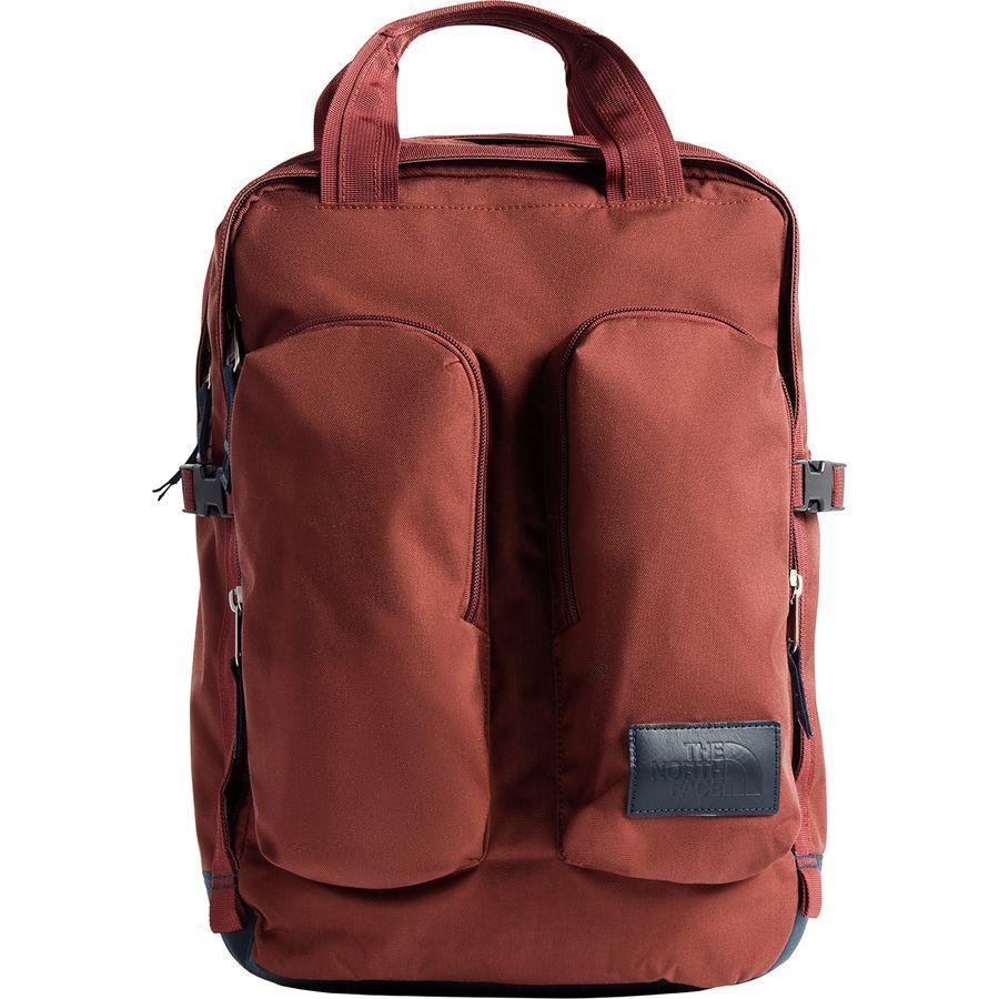 (取寄)ノースフェイス ミニ クレバス 14.5L バックパック The North Face Men's Mini Crevasse 14.5L Backpack Henna Heather/Urban Navy