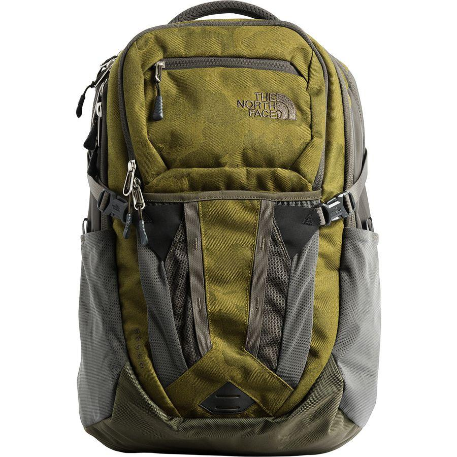 (取寄)ノースフェイス リーコン 31L バックパック The North Face Men's Recon 31L Backpack Fir Green Camo Print/New Taupe Green