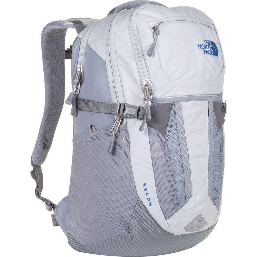 (取寄)ノースフェイス リーコン 31L バックパック The North Face Men's Recon 31L Backpack High Rise Grey Dark Heather/Mid Grey