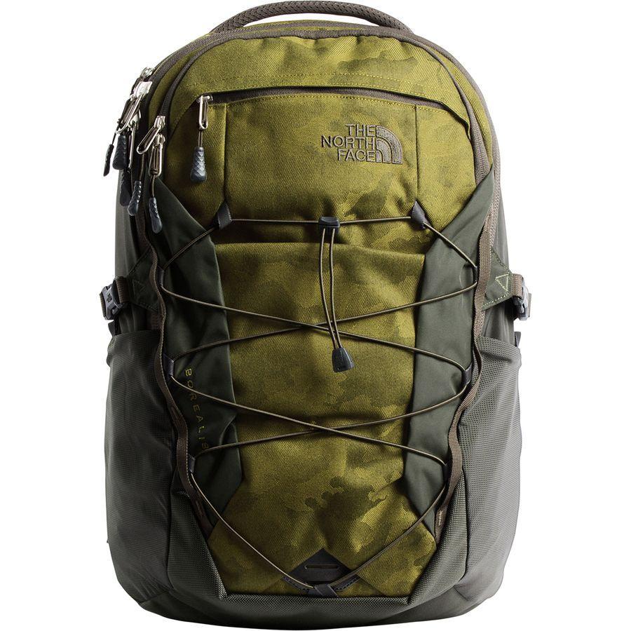 (取寄)ノースフェイス ボレアリス 28L バックパック The North Face Men's Borealis 28L Backpack Fir Green Camo Print/New Taupe Green