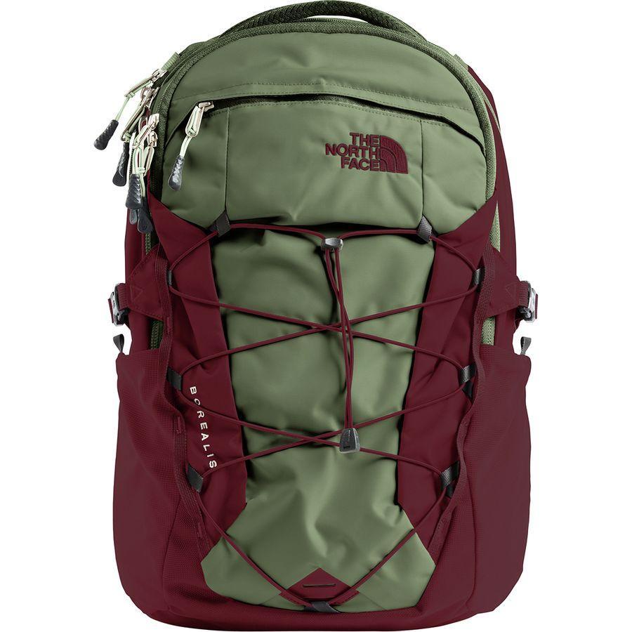 (取寄)ノースフェイス ボレアリス 28L バックパック The North Face Men's Borealis 28L Backpack Four Leaf Clover/Sequoia Red