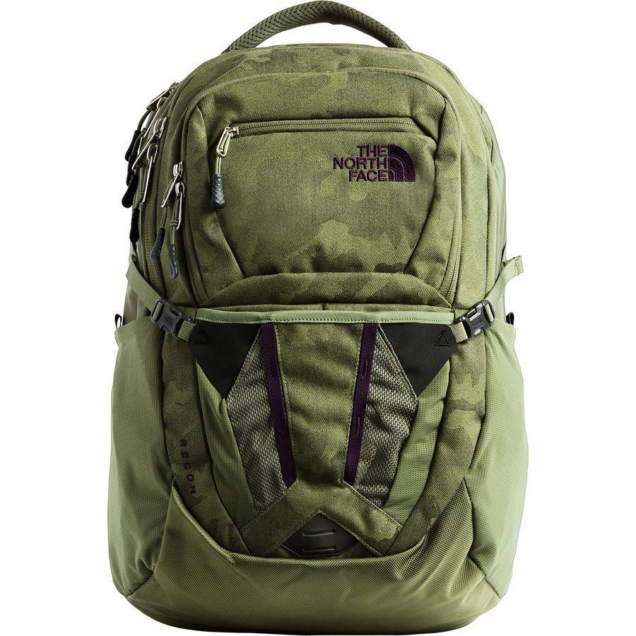 (取寄)ノースフェイス レディース リーコン 31L バックパック The North Face Women Recon 31L Backpack Four Leaf Clover Camo Print/Four Leaf Clover