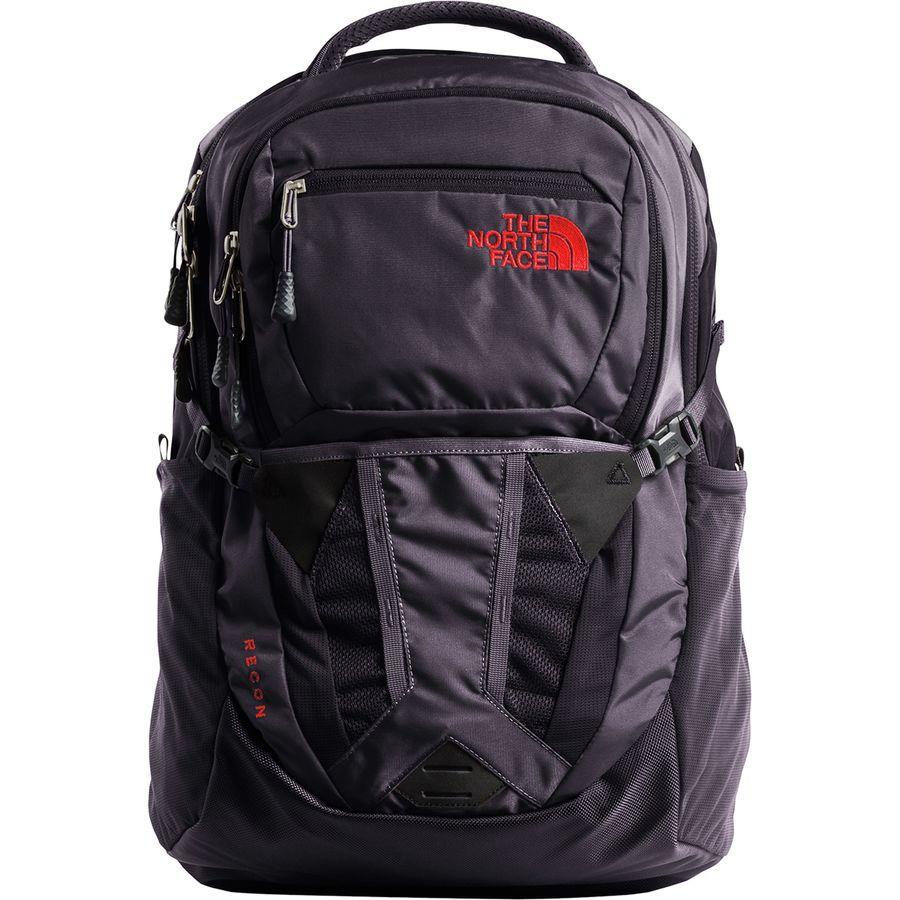(取寄)ノースフェイス レディース リーコン 31L バックパック The North Face Women Recon 31L Backpack Galaxy Purple/Juicy Red