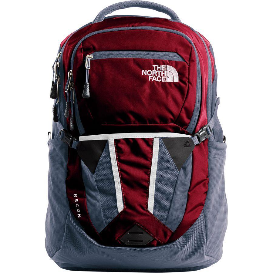 (取寄)ノースフェイス レディース リーコン 31L バックパック The North Face Women Recon 31L Backpack Rumba Red/Grisaille Grey