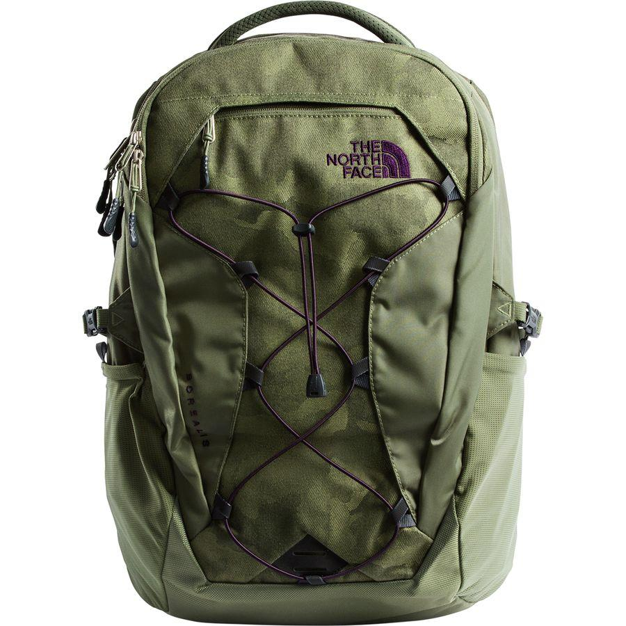 (取寄)ノースフェイス レディース ボレアリス 27L バックパック The North Face Women Borealis 27L Backpack Four Leaf Clover Camo Print/Four Leaf Clover