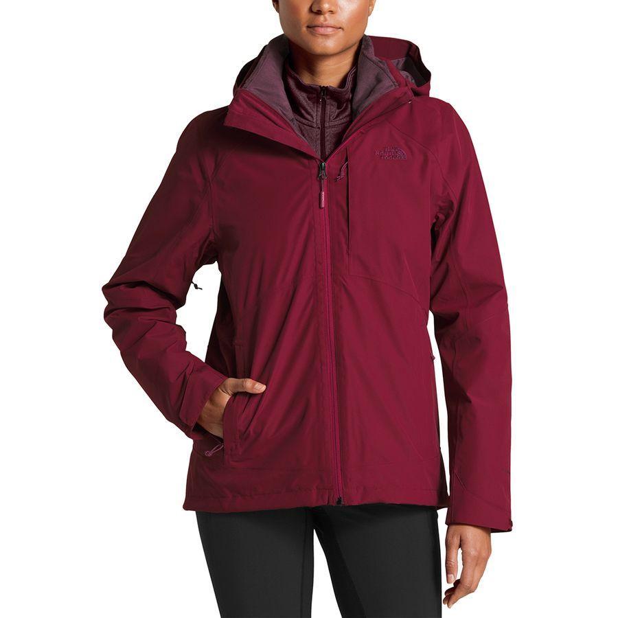 (取寄)ノースフェイス レディース Osito トリクラメイト ジャケット The North Face Women Osito Triclimate Jacket Rumba Red/Rumba Red