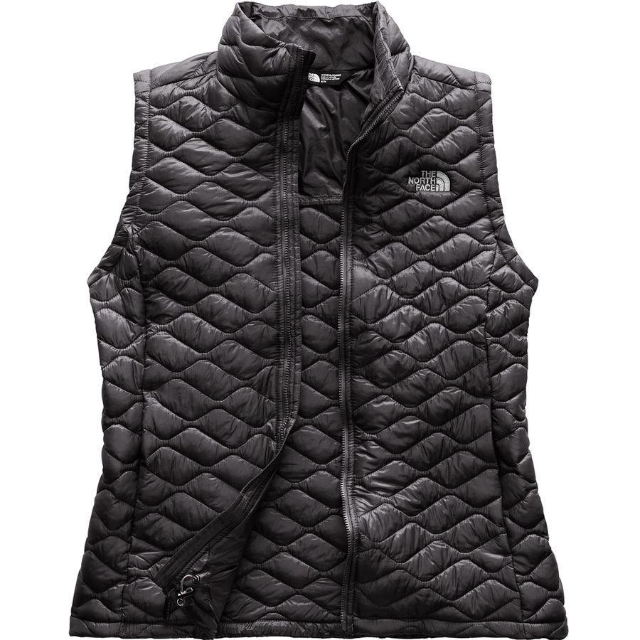 (取寄)ノースフェイス レディース ThermoBall インサレーテッド ベスト The North Face Women ThermoBall Insulated Vest Asphalt Grey