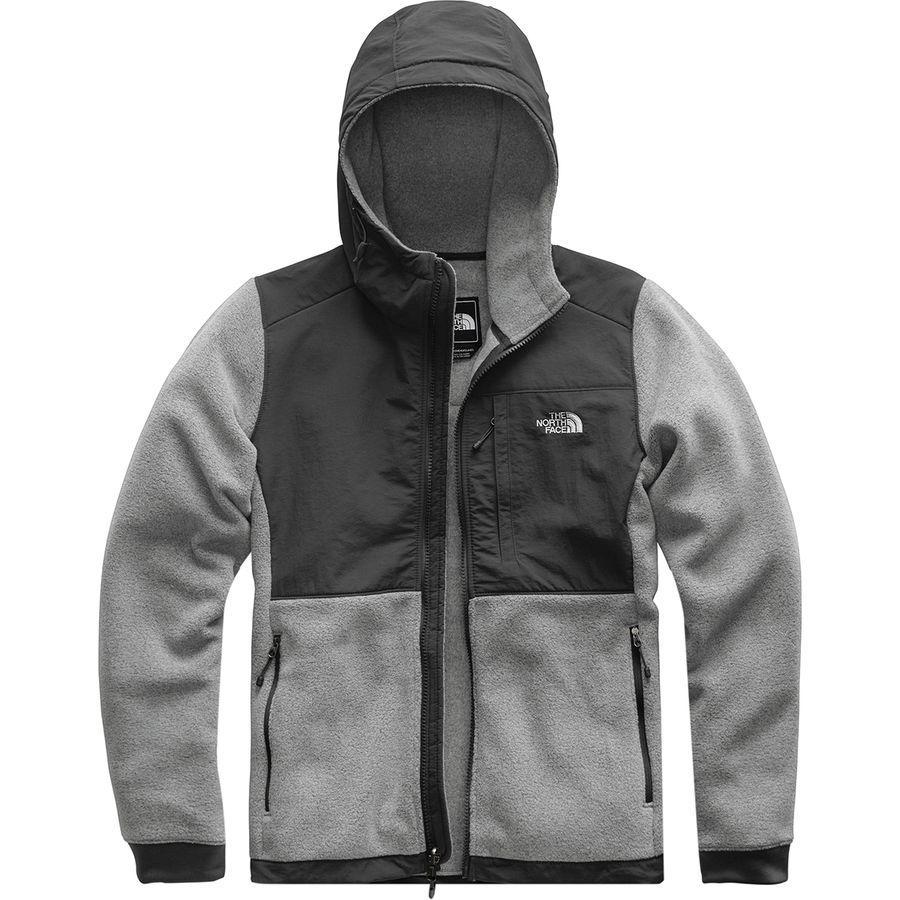 (取寄)ノースフェイス レディース デナリ 2 フーデッド フリース ジャケット The North Face Women Denali 2 Hooded Fleece Jacket Tnf Medium Grey Heather/Asphalt Grey