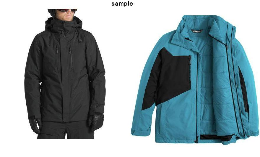 643998163a (order) ノースフェイスメンズクレメントトリクラメイトジャケット The North Face Men s Clement Triclimate  Jacket Tnf Black Tnf Black