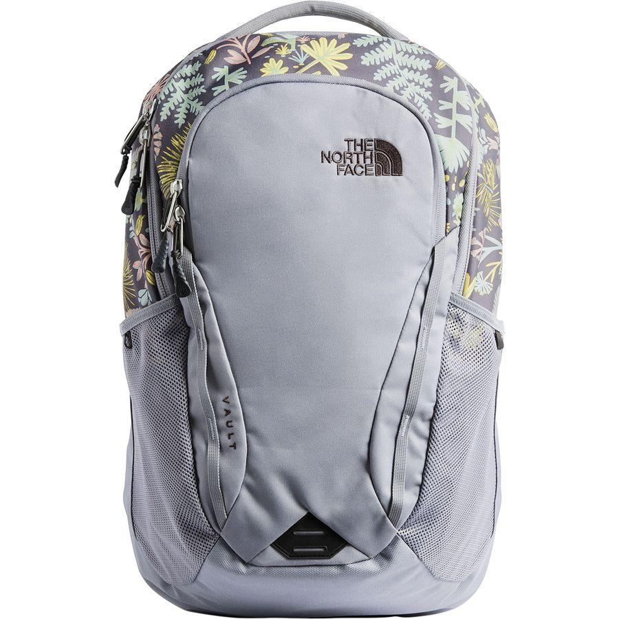 (取寄)ノースフェイス レディース ボルト 26L バックパック The North Face Women Vault 26L Backpack Mid Grey Woodland Floral Print/Mid Grey