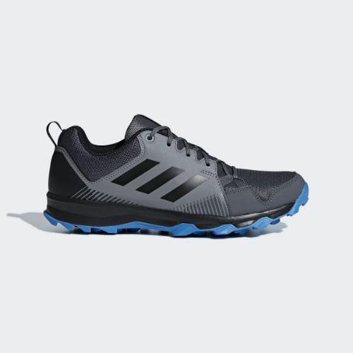 (取寄)アディダス メンズ テレックス Tracerocker ランニングシューズ adidas Men's Terrex Tracerocker Shoes Grey / Core Black / Bright Blue