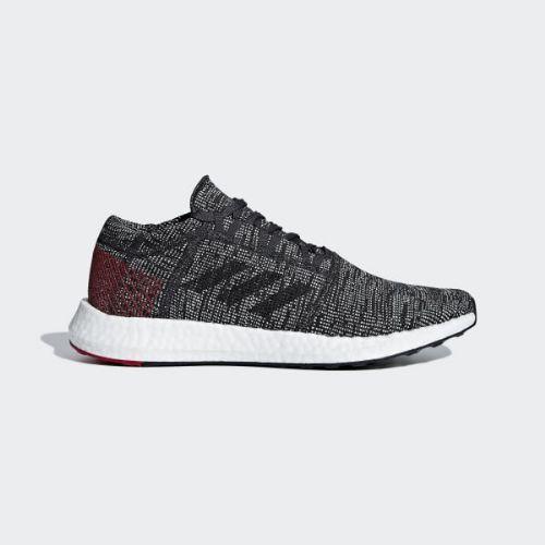(取寄)アディダス メンズ ピュアブースト ゴー ランニングシューズ adidas Men's Pureboost Go Shoes Carbon / Core Black / Power Red