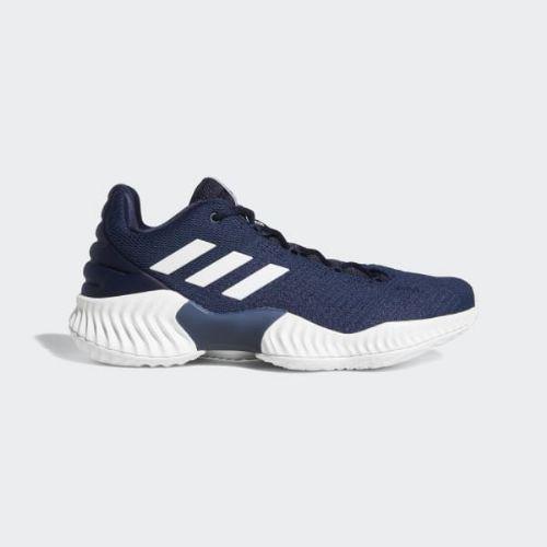 (取寄)アディダス メンズ プロ バウンス 2018ロウ バスケットボールシューズ adidas Men's Pro Bounce 2018 Low Shoes Collegiate Navy / Cloud White / Collegiate Navy