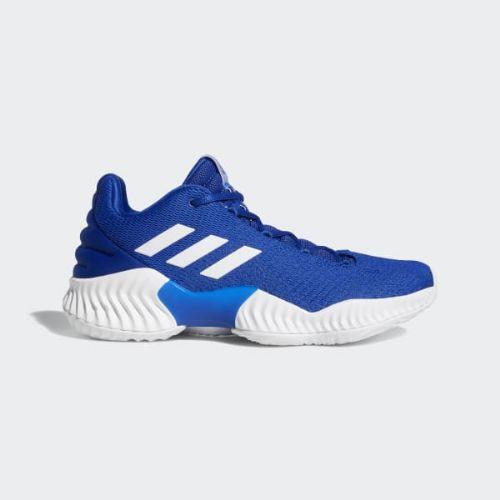 (取寄)アディダス メンズ プロ バウンス 2018ロウ バスケットボールシューズ adidas Men's Pro Bounce 2018 Low Shoes Collegiate Royal / Cloud White / Collegiate Royal
