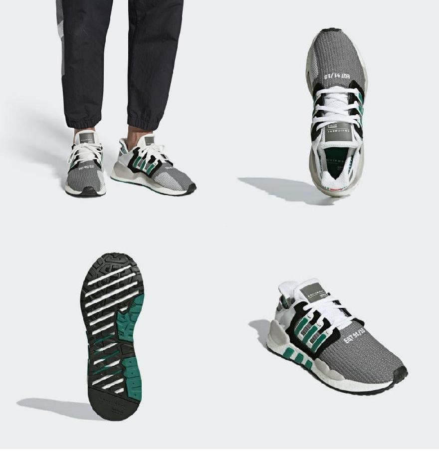 (order) Adidas originals men EQT support 91 18 sneakers adidas originals  Men s EQT Support 91 18 Shoes Core Black   Clear Granite   Sub Green 7fb9b4765