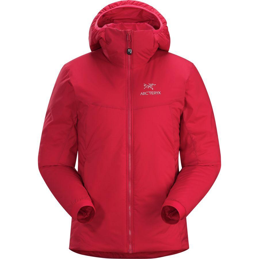 (取寄)アークテリクス レディース アトム AR フーデッド インサレーテッド ジャケット Arc'teryx Women Atom AR Hooded Insulated Jacket Pomegranate