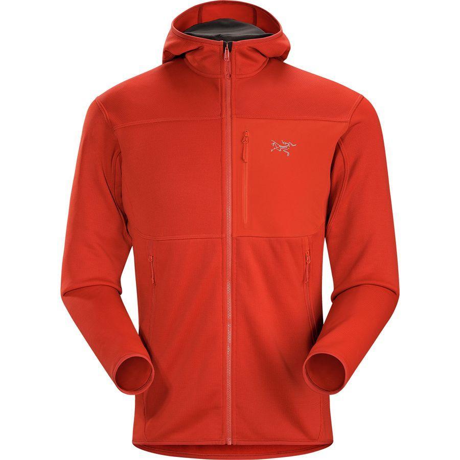 (取寄)アークテリクス メンズ フォートレズ フーデッド フリース ジャケット Arc'teryx Men's Fortrez Hooded Fleece Jacket Ember