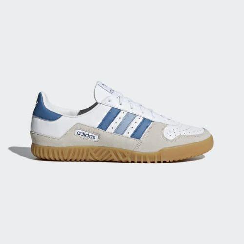 (取寄)アディダス オリジナルス メンズ インドア コムプ SPZL スニーカー adidas originals Men's Indoor Comp SPZL Shoes Cloud White / Black / Clear Brown