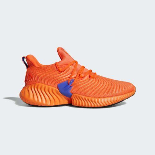 (取寄)アディダス メンズ アルファバウンス インスティンクト ランニングシューズ adidas Men's Alphabounce Instinct Shoes Solar Red / Hi-Res Orange / Hi-Res Blue